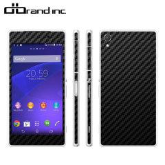 dbrand Sony Xperia Z2 Skin - Black Carbon Fibre