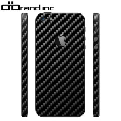 dbrand Textured Back & Frame Skin for iPhone 5S / 5 - Carbon Fibre