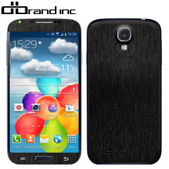 dbrand Textured Cover Skin for Galaxy S4 - Black Titanium
