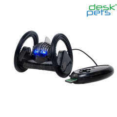 DeskPet TrekBot Black with SmartPhone Adaptor