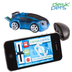 DeskPets CarBot App Controlled Car - Blue
