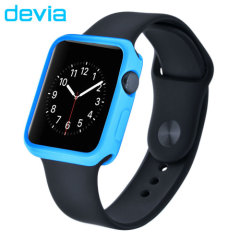 Devia Soft TPU Apple Watch Case - 38mm - Blue