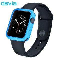 Devia Soft TPU Apple Watch Case - 38mm - Blue