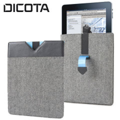 Dicota PadCover for iPad 4 / 3 / 2 - Black/Blue
