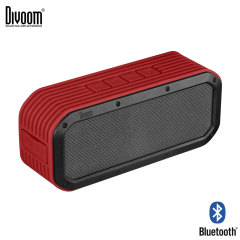 Divoom Voombox Outdoor Rugged Portable Bluetooth Speaker - Red