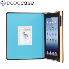 DODOcase Classic Case for iPad 4 / 3 - Sky Blue