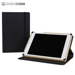 DODOcase Multi-Angle iPad Mini 3 / 2 / 1 Case - Black/Charcoal