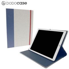 DODOcase Multi-Angle iPad Pro 12.9 inch Case - Dove Grey / Indigo