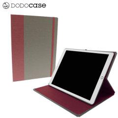 DODOcase Multi-Angle iPad Pro 12.9 inch Case - Granite/Merlot