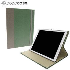 DODOcase Multi-Angle iPad Pro 12.9 inch Case - Green / Gunnysack