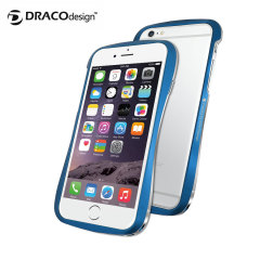 Draco 6 iPhone 6 Aluminium Bumper - Electric Blue