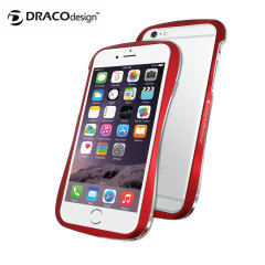Draco 6 iPhone 6 Aluminium Bumper - Flare Red