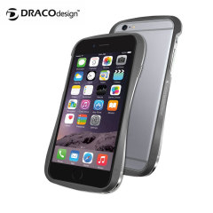 Draco 6 iPhone 6 Aluminium Bumper - Graphite Grey