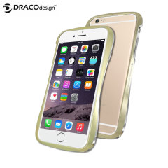 Draco 6 iPhone 6 Plus Aluminium Bumper - Champagne Gold