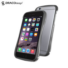 Draco 6 iPhone 6 Plus Aluminium Bumper - Graphite Grey
