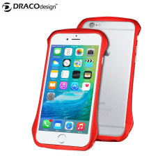 Draco 6 iPhone 6S / 6 Aluminium Bumper - Flare Red