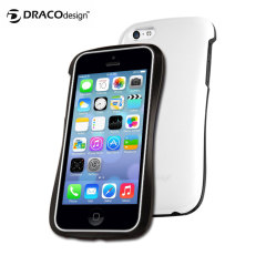Draco Design Allure CP Ultra Slim Bumper Case for iPhone 5C - White