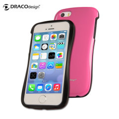 Draco Design Allure P Bumper Case for iPhone 5S / 5 - Pink