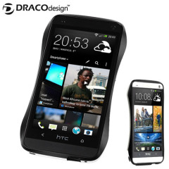 Draco Design Aluminium Bumper for HTC One M7 - Metro Black