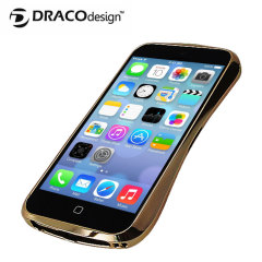 Draco Design Aluminium Bumper for the iPhone 5S / 5 - Luxury Gold