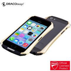 Draco Ducat Venture A Aluminium Bumper for iPhone 5S / 5 - Gold