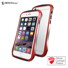 Draco Ducati 6 iPhone 6 Aluminium Bumper - Flare Red