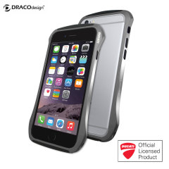 Draco Ducati 6 iPhone 6 Aluminium Bumper - Graphite Grey