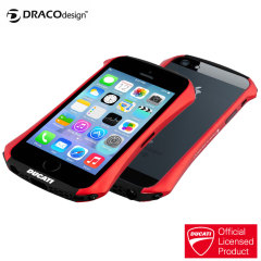Draco Ducati Venture A Aluminium Bumper for iPhone 5S / 5 - Red