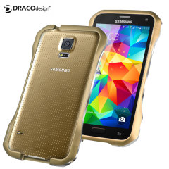 Draco Galaxy S5 Supernova S5 Aluminium Bumper - Copper Gold