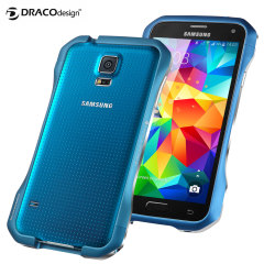 Draco Galaxy S5 Supernova S5 Aluminium Bumper - Electric Blue