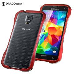 Draco Galaxy S5 Supernova S5 Aluminium Bumper - Flare Red
