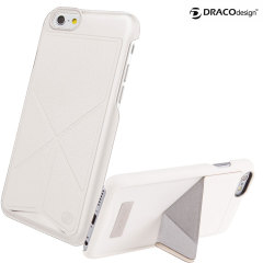 Draco Tigris Shell Stand iPhone 6 Case - White