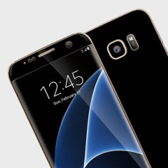 Easyskinz Samsung Galaxy S7 Edge Deep Black Matt Skin - Black