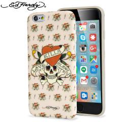 Ed Hardy iPhone 6S / 6 Designer Shell Case - Love Kills