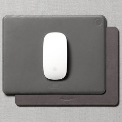 Elago Genuine Leather Mouse Pad - Dark Gray