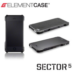 ElementCase Sector 5 Standard Edition Case for iPhone 5S / 5 - Black