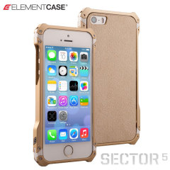 ElementCase Sector 5 Standard Edition Case for iPhone 5S / 5 - Gold