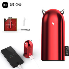 Emie Devil 5,200mAh Power Bank - Red
