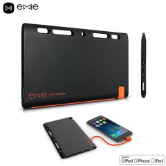 Emie Power Note 5,200mAh Ultra Slim Lightning Power Bank - Black