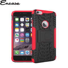 Encase ArmourDillo Hybrid Apple iPhone 6 Plus Protective Case - Red