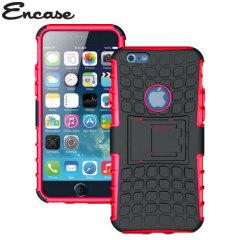 Encase ArmourDillo Hybrid Apple iPhone 6 Protective Case - Red
