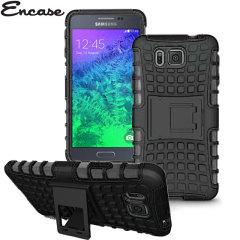 Encase ArmourDillo Hybrid Samsung Galaxy Alpha Protective Case - Black