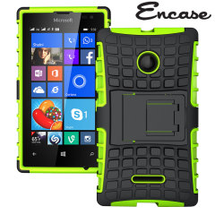 Encase ArmourDillo Microsoft Lumia 532 Protective Case - Green