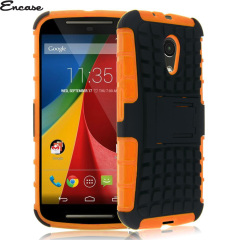 Encase ArmourDillo Moto G 2nd Gen Protective Case - Orange