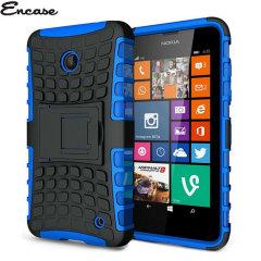 Encase ArmourDillo Nokia Lumia 630 Protective Case - Blue