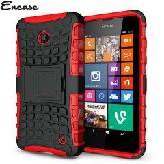 Encase ArmourDillo Nokia Lumia 630 Protective Case - Red