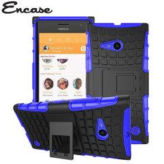 Encase ArmourDillo Nokia Lumia 735 Protective Case - Blue