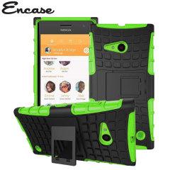 Encase ArmourDillo Nokia Lumia 735 Protective Case - Green