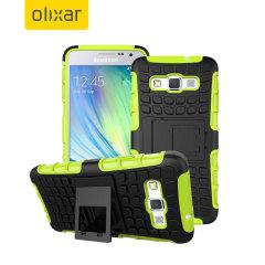 Encase ArmourDillo Samsung Galaxy A3 Protective Case - Green