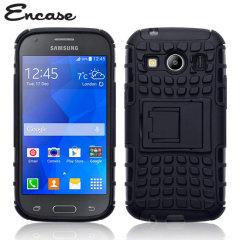 Encase ArmourDillo Samsung Galaxy Ace 4 Protective Case - Black